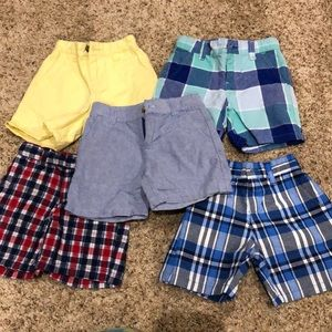 Janie and Jack 6-12 mos shorts bundle (5 pair)